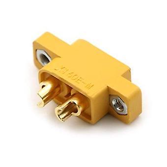 YUNIQUE DEUTSCHLAND 5 Stück XT60E-M Plug Männlich Hochwertige Stecker für RC Lipo Modellbauakkus RE-W0MZ-H1RX