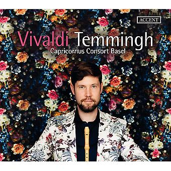 Vivaldi / Temmingh / Kauris Consort Basel - Konsertto tallentimen & Preludes [CD] USA tuonti