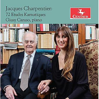 Charpentier / Caruso - 72 Etudes Karnatiques [CD] USA import