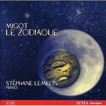 ジョルジュ ・ Mogot - Migot: ル Zodiaque [CD] USA 輸入