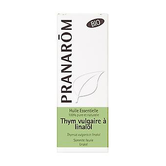 Common Thyme Qt Linalol Essential Oil Bio 5 ml of essential oil