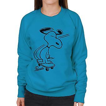 Peanuts Snoopy skeittilauta naisten ' s College pusero