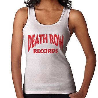 Death Row Records Logo Red Women's Vest