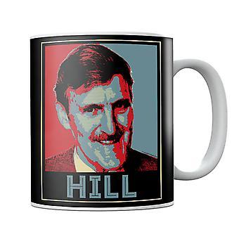 TV Times Jimmy Hill Sports Présentateur Mug