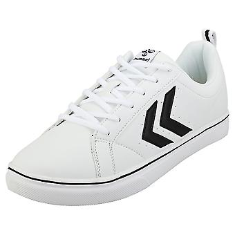 hummel Mainz Mens Casual Trainers in White