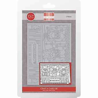 Première édition Christmas Craft A Card Die - Atelier