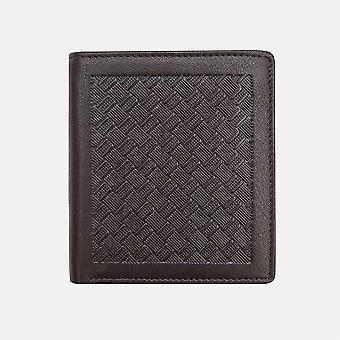 Primehide Slim Mens Leather Wallet RFID Bloqueando o Porta-cartas gents 3202