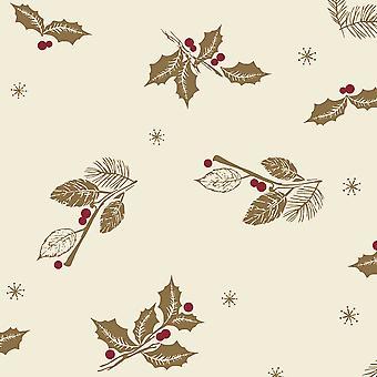 Swantex Season Greeting Christmas Swansoft Banquet Roll