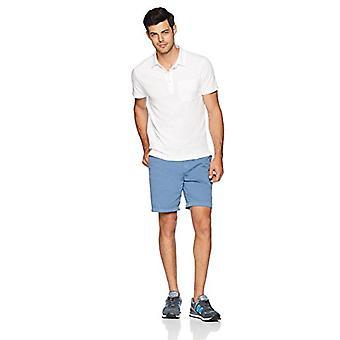 Goodthreads الرجال & apos;ق خفيفة الوزن Slub جيب بولو قميص, أبيض مشرق, X-كبيرة