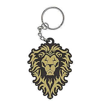 Key Chain - Warcraft Movie - Alliance Logo Rubber New Gift Toys j5930