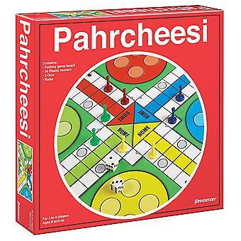 Games - Pressman Toy - Pahrcheesi (Red Box) New 1913-06