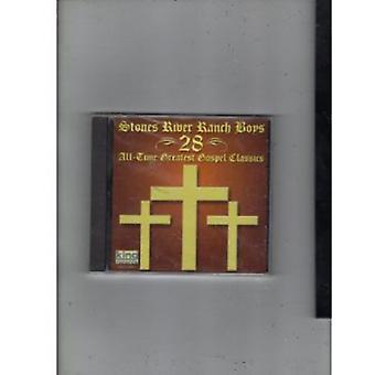 Stenar River Ranch pojkar - 28 alla tid största evangeliet Classic [CD] USA import