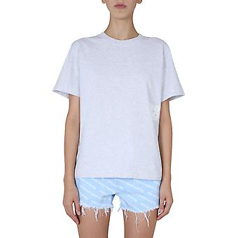 Alexander Wang.t 4cc1201152050 Camiseta de algodón gris's