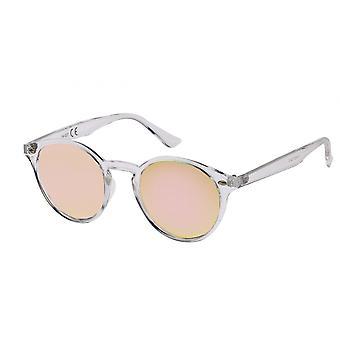 Sonnenbrille Unisex    Wanderer durchsichtig/rosa (20-156)