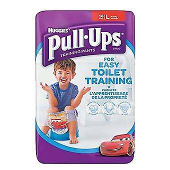 Boys Large 16-23kg Toilet Potty Training 14 Pull Ups Re-sealable Stretchy