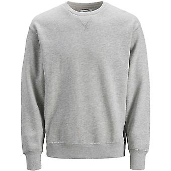 Jack & Jones Melange Crew Neck Sweatshirt Lichtgrijs 79