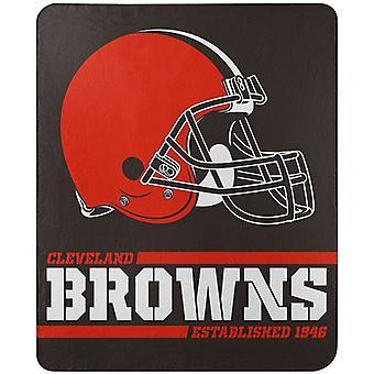 Cleveland Browns NFL Northwest Split Wide Fleece Throw