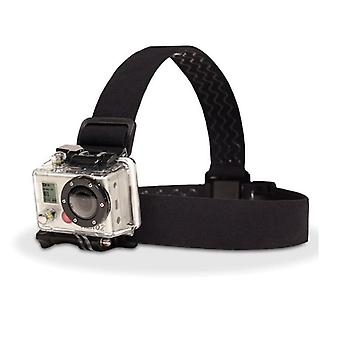 Elastic Adjustable, Harness Head Strap Mount Belt For Gopro Hd Hero