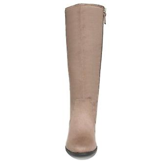 Dr. Scholl's Womens Brilliance Almond Toe Mid-Calf Riding Boots