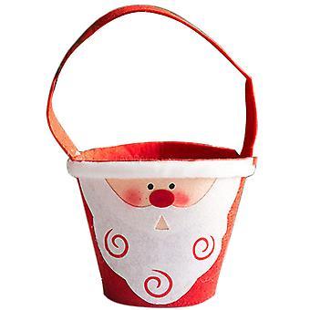 Christmas Santa Gifts Bucket Christmas Decor