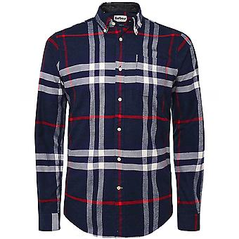 Barbour Tailored Fit Highland Check Camisa