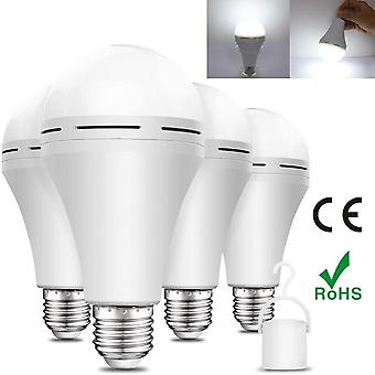 Emergency Led Bulb Battery Backup Rechargeable Bulb Portable For Power Outage