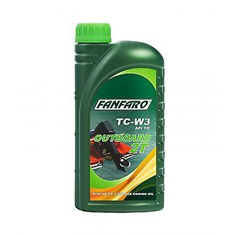 Fanfaro 1 L Outboard 2T Synthetic Two-Stroke Oil API TD NMMA TC-W3 Level