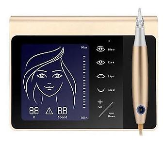 Touch Screen Permanent Makeup Machine Kit For Eyebrow, Lip -  Eyeliner Machine