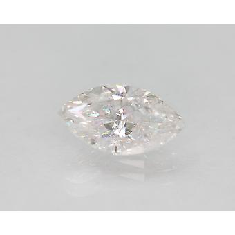 Zertifiziert 1.18 Karat D SI1 Marquise Enhanced Natural Loose Diamond 9.7x5.35mm