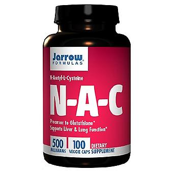 Jarrow Formulas NAC, 500 mg, 100 Caps