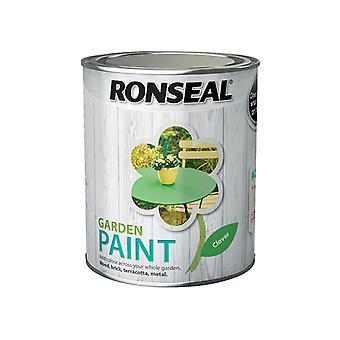 Ronseal Garden Paint Clover 750ml RSLGPC750