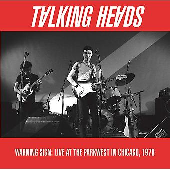 Talking Heads - Warning Sign: Live At The Parkwest In Chicago. 1978 Vinyl