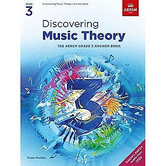 Discovering Music Theory, The ABRSM Grade 3 Answer Book (Theory workbooks (ABRSM))