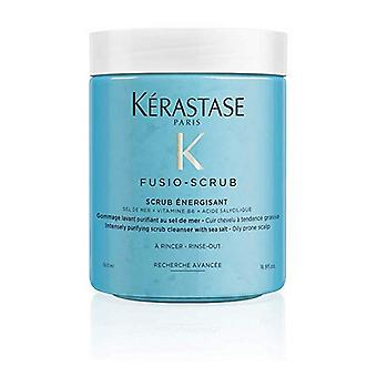 Puhdistava naamio Fusio-kuorinta Energsisant Kerastase (500 ml)
