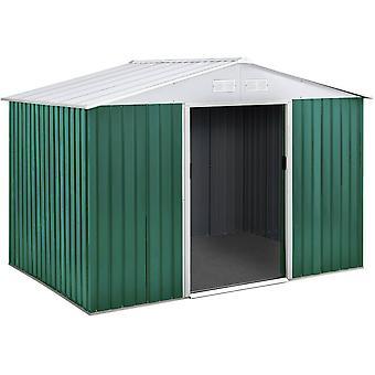"Caseta de metal para jardín ""ROSAS"" 4,07 m²"