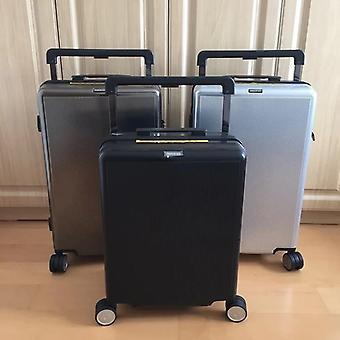 رائعة كبيرة ليفر PC المتداول الأمتعة الدوار حقيبة السفر تحمل على عربة
