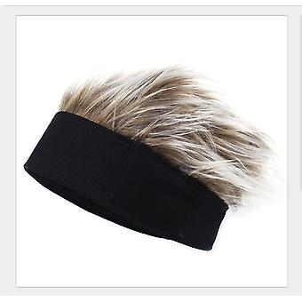 Wool As Wig Hat Funny Cap Wig Cap Beanie Hat Knit Cap Novelty Hair Beanie Cap For Men