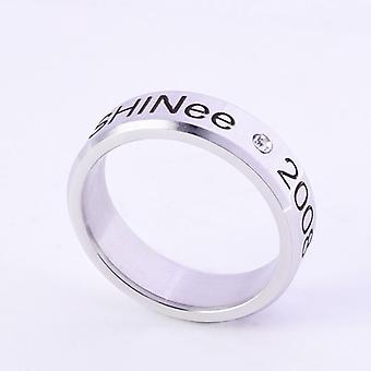 Kpop Stray Kids Alloy Ring, Simple Fashion Style For Lover Fans Collection