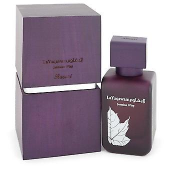 La Yuqawam Jasmine Wisp Eau De Parfum Spray By Rasasi 2.5 oz Eau De Parfum Spray