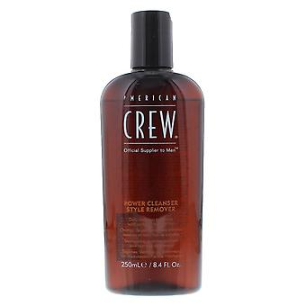American Crew Power Cleanser Style Remover 250ml Daily Shampoo - All Hair Types