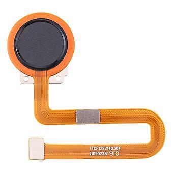 Sensor de impressão digital para Nokia 7.2 TA-1193 TA-1178 TA-1196 TA-1181 TA-1200 TA-1198 TA-1201 TA-1187 Peça de reposição do botão home preto