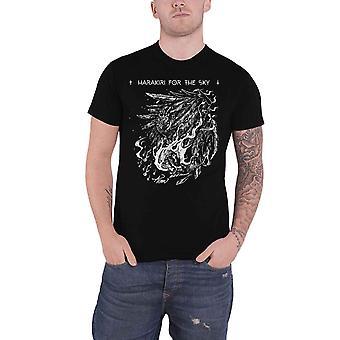 Harakiri For The Sky T Shirt Arson White Band Logo new Official Mens Black