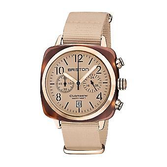 Briston 20140.PRA.T.36.NTN Clubmaster Classic Terracotta Acetate Wristwatch