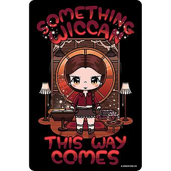 Mio Moon Something Wiccan This Way Comes Plaque