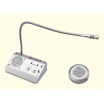 Okno Interphone Audio Záznam Intercom Interphone reproduktor, otočná banka