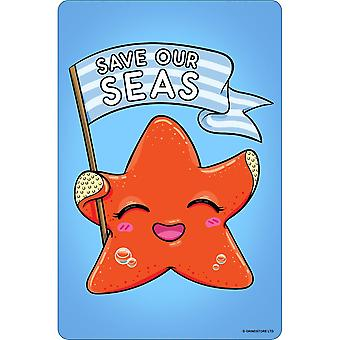Grindstore Save Our Seas Plaque