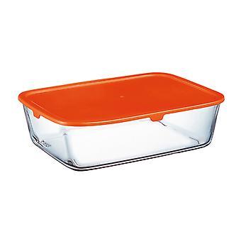 Öğle yemeği kutusu Arcopal Basics Plastik Kristal Dikdörtgen/2 L