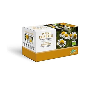 Two Flowers Chamomile 20 infusion bags of 1.2g