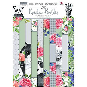 The Paper Boutique - Rainbow Buddies Collection - Insert Collection