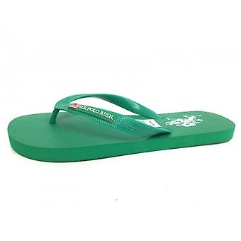 Slippers Us Polo Green Mod Barclay Rubber Us16up32